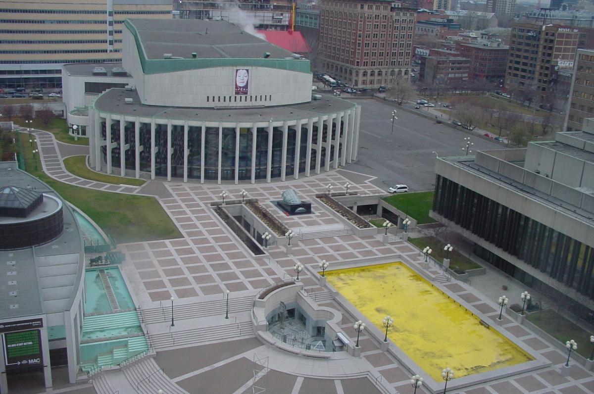 Grand Foyer Culturel De La Place Des Arts : Place des arts — wikipédia