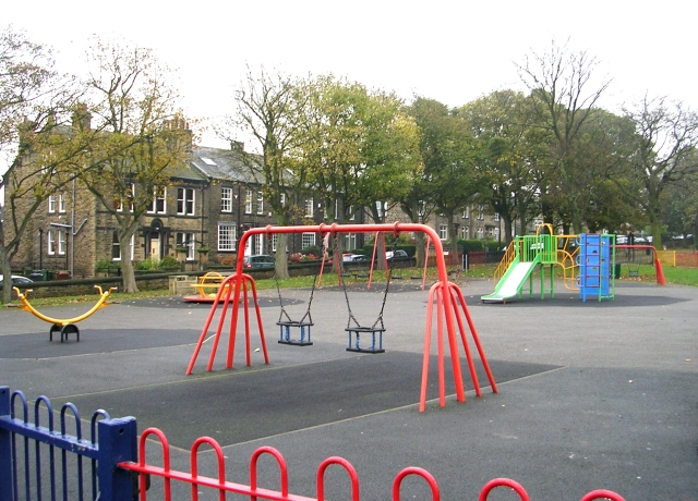File:Playground - Victoria Park, Carr Road - geograph.org ...