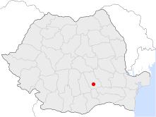 Location of Ploieşti