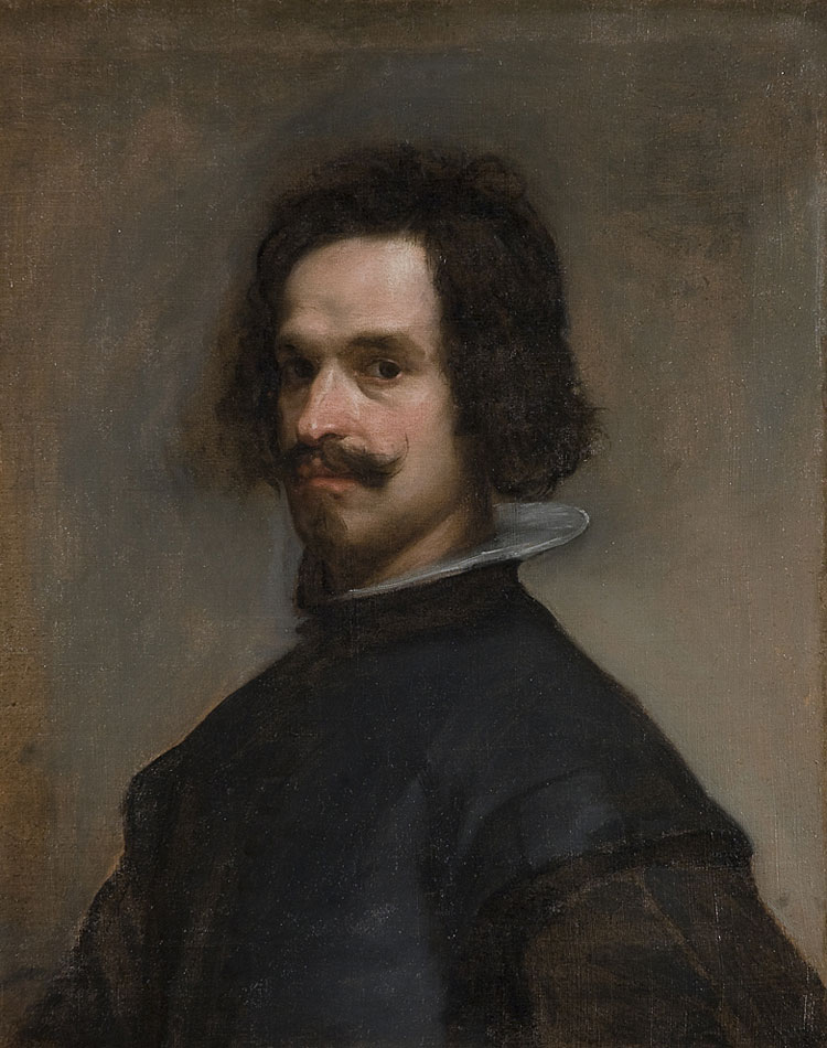 Portrait Ofa Girl 14 Years In Nature Stock Image: Portrait Of A Man (Velázquez)