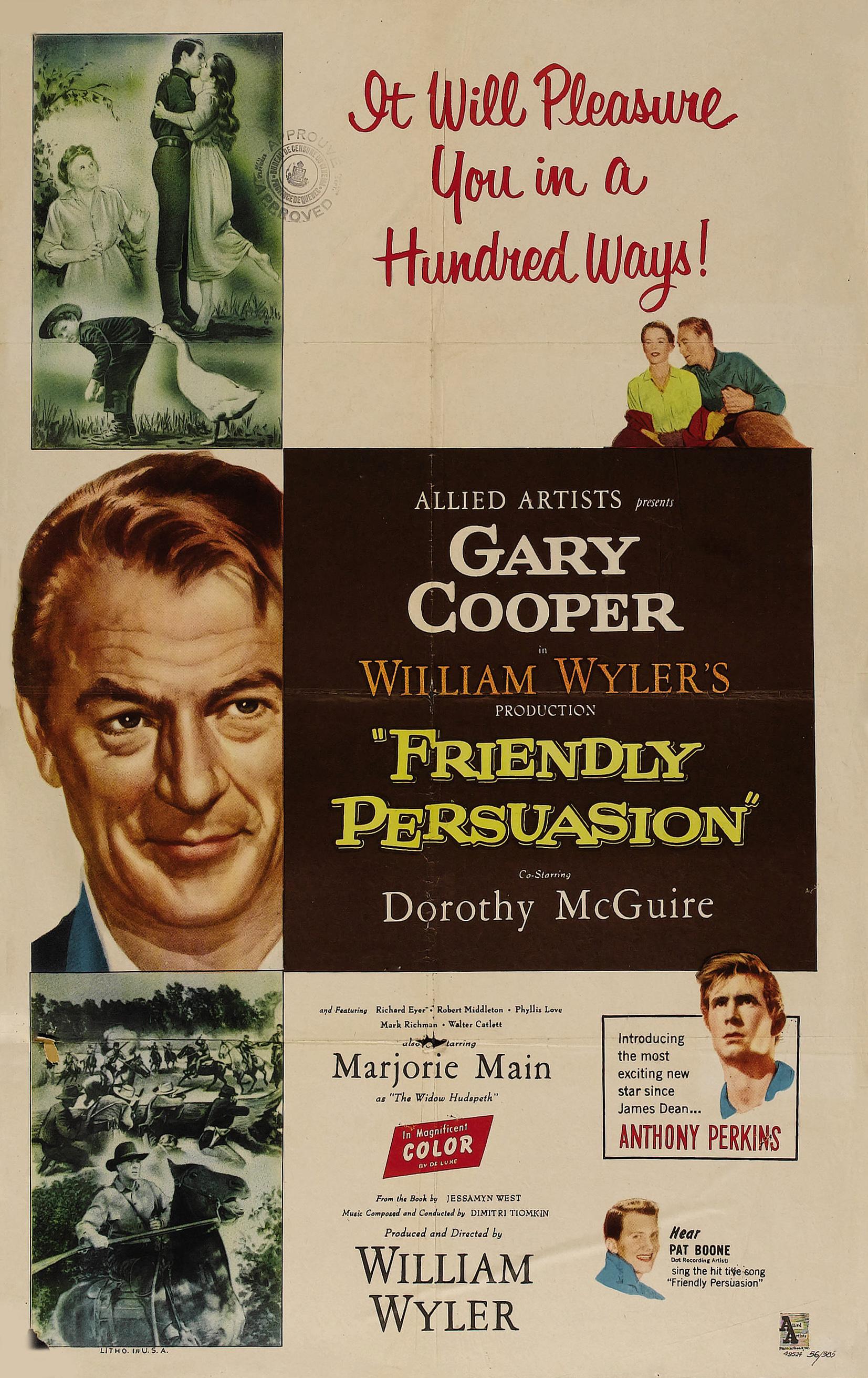 Friendly Persuasion (1956 film) - Wikipedia