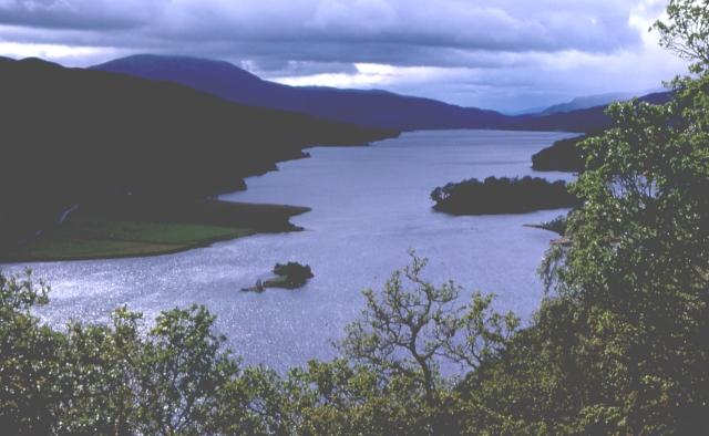 Queen's View, Loch Tummel - geograph.org.uk - 9404
