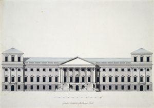 Um projecto para a construção de um novo Richmond Palace, desenhado por Sir William Chambers em 1765. Este plano nunca foi executado pelo rei. Un novo palácio foi iniciado segundo um outro desenho, mas nunca foi concluído.