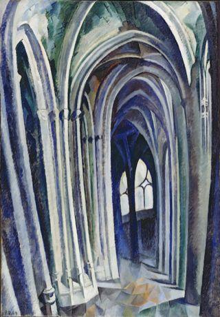 File:Robert Delaunay, Saint-Séverin No. 1, 1909.jpg