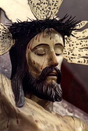 Rostro del Santo Cristo de La Grita