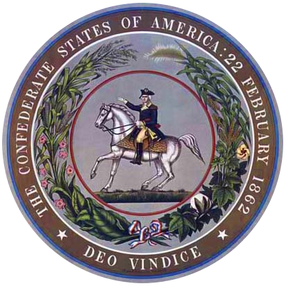 The Seal of the President of the Confederate States of America