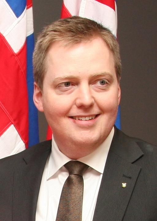 iceland prime minister Gunnlaugsson