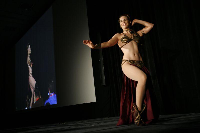 Princess Leia Slave Dance