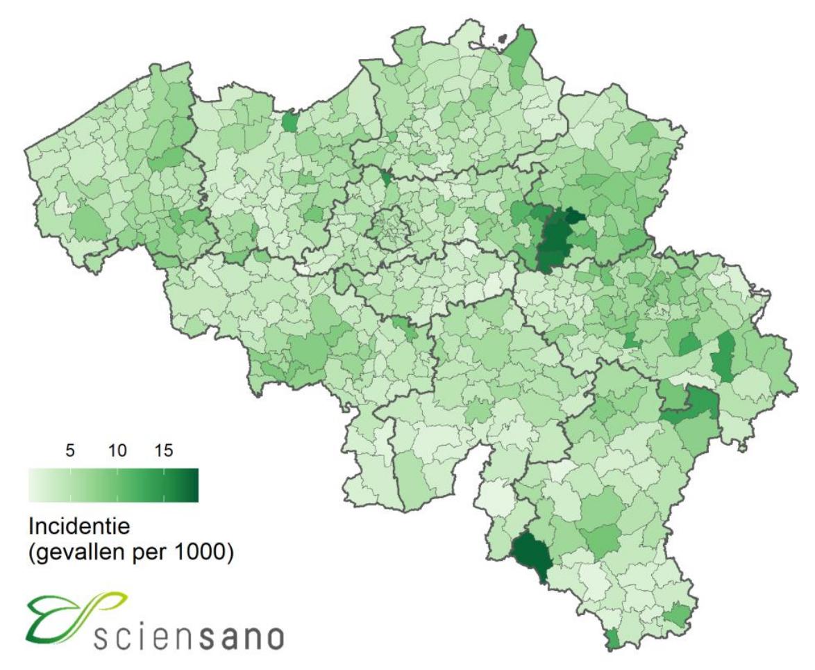 Covid 19 Pandemic In Belgium Wikipedia