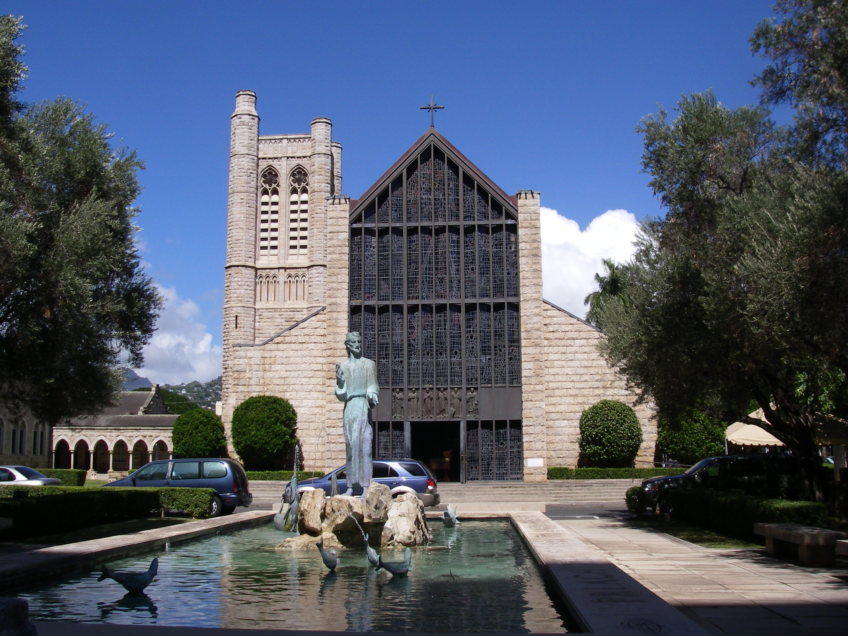 Image result for st andrew's cathedral honolulu
