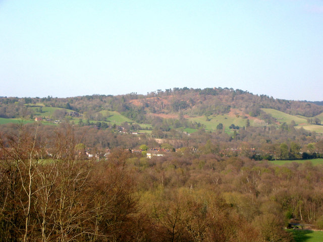 St Martha's Hill from Chinthurst Hill - geograph.org.uk - 528739