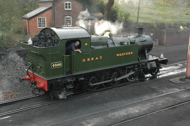 Steam locomotive - geograph.org.uk - 1566005