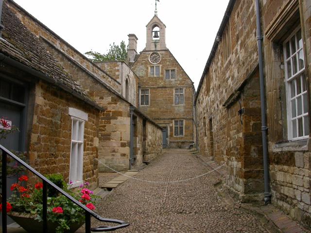 Street inside Rockingham Castle - geograph.org.uk - 31554
