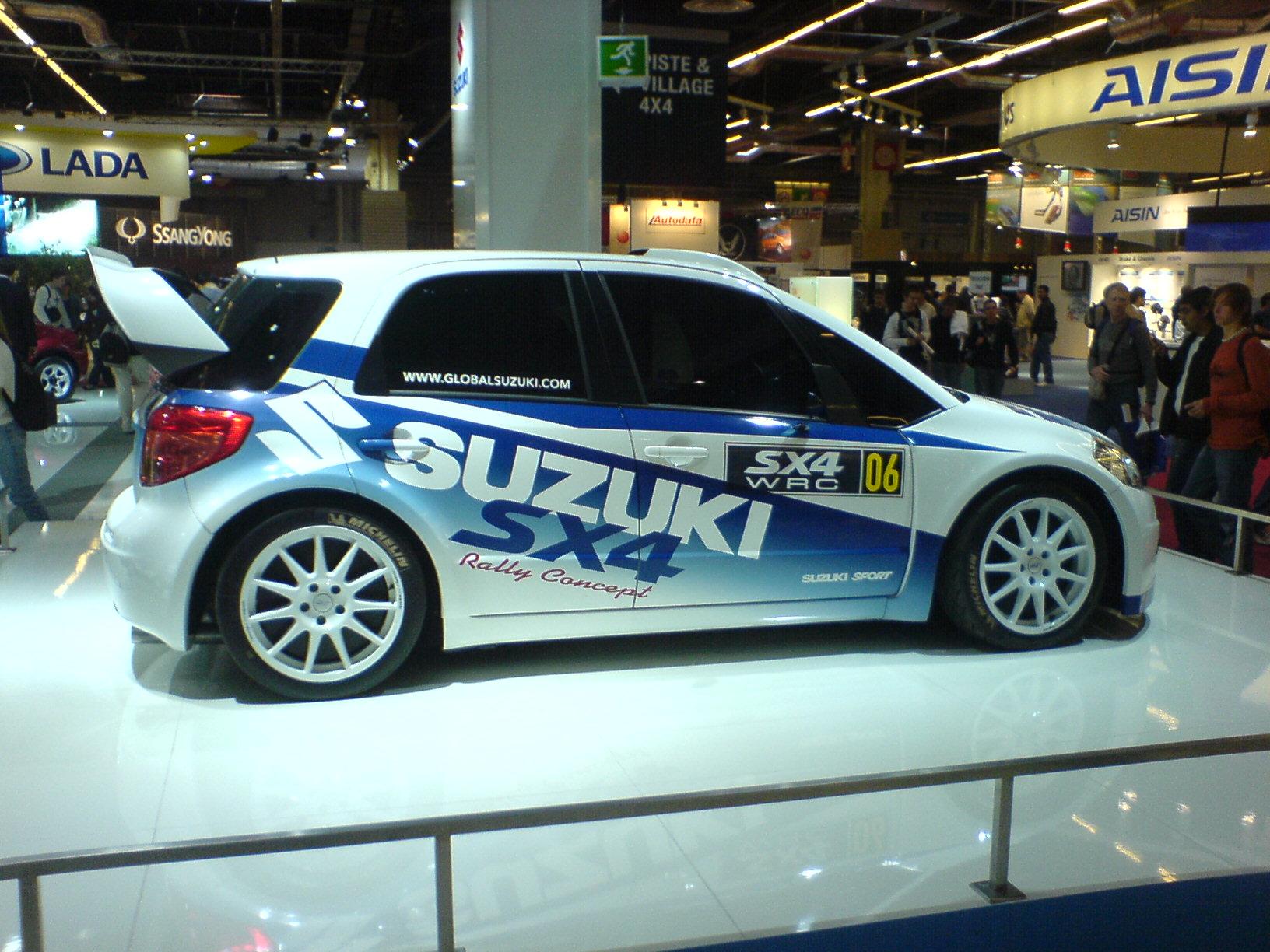 Lifted Suzuki Aerio