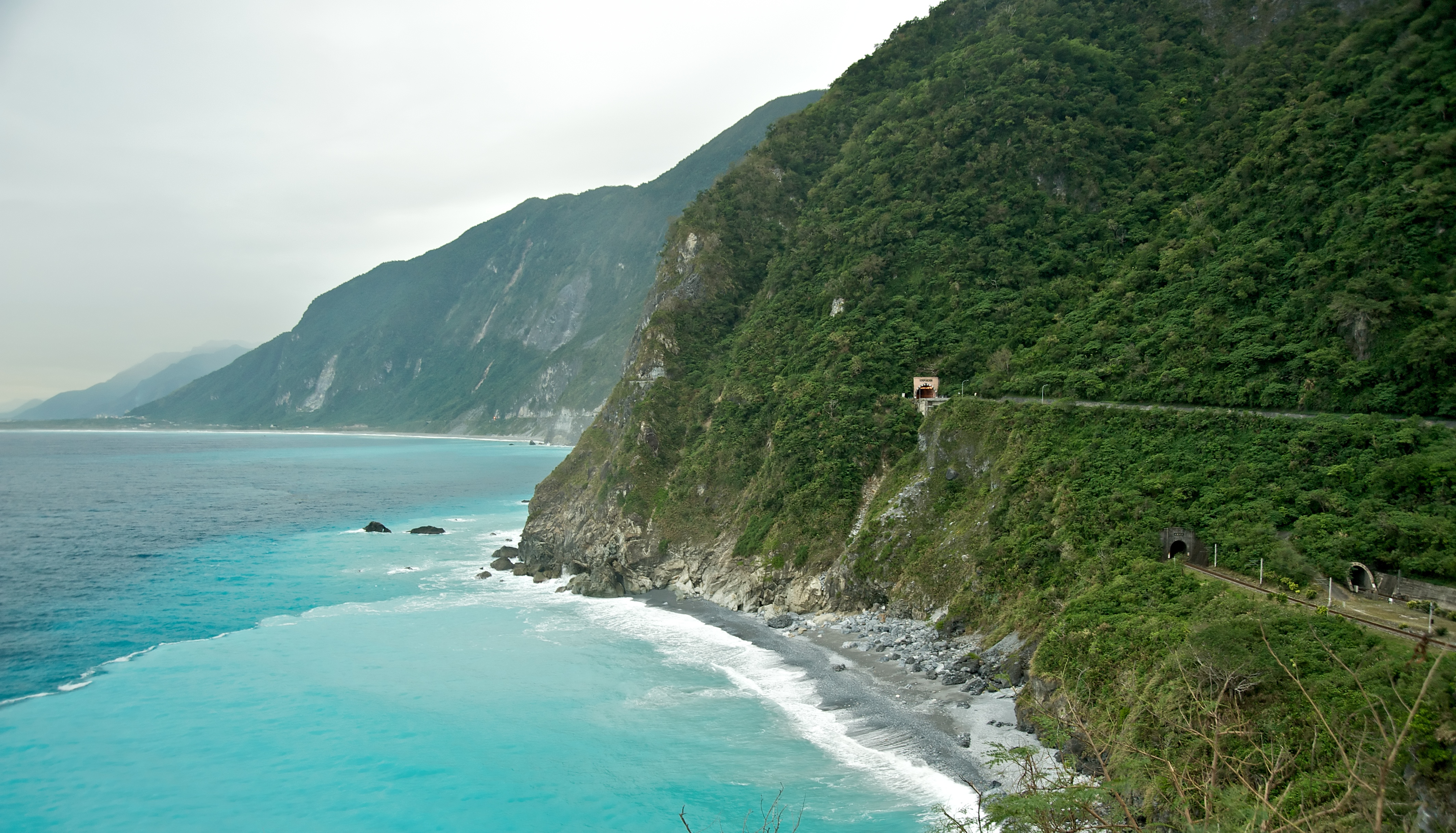 SuHua Gong Lu or Su Au to Hualien Highway, Taiwan
