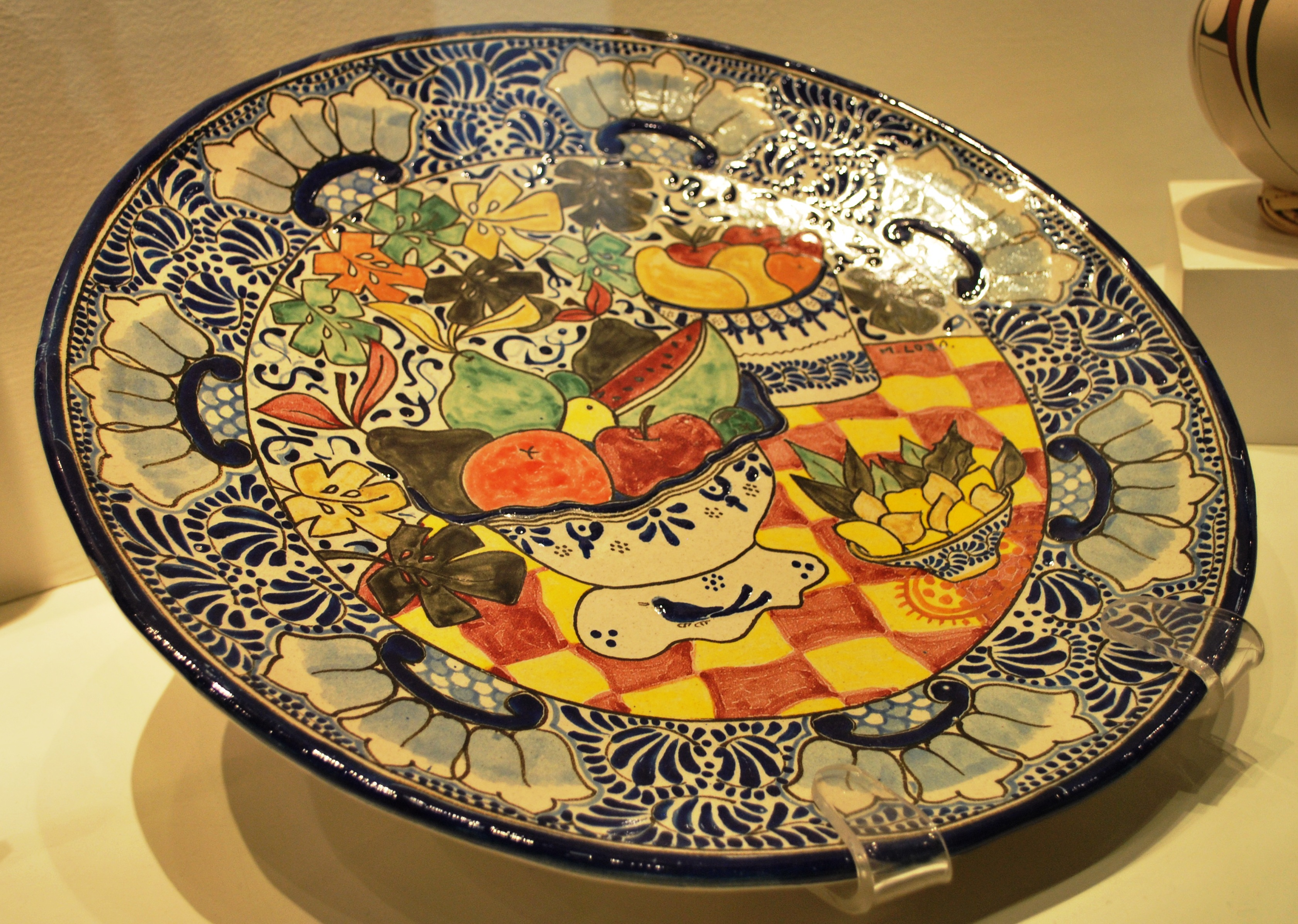 Talavera Pottery was introduced by Spanish Guild Artisan during the Colonial period in Mexico. Today it is known as Mexican Talavera Pottery. & Talavera Pottery | Artifact Collectors