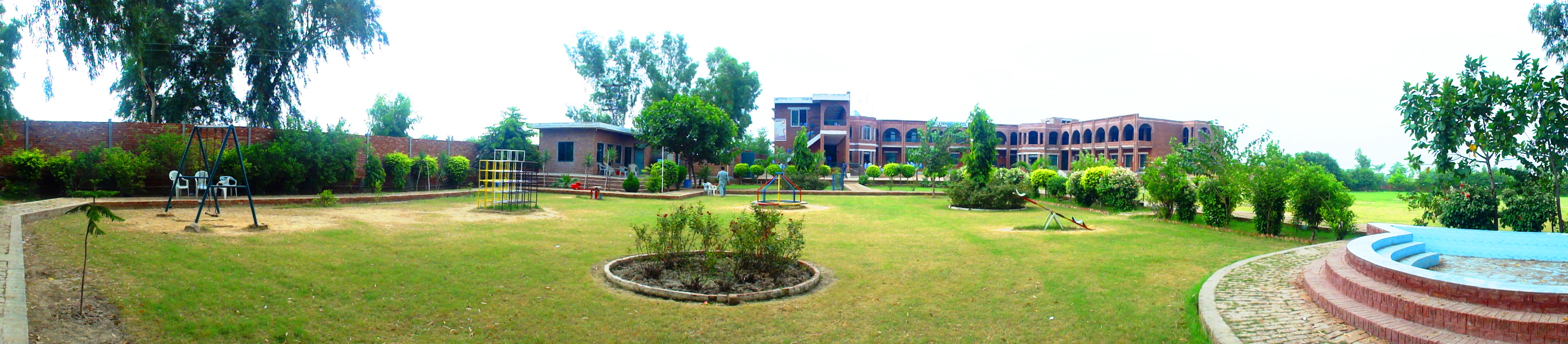 The Learning School, Kot Radha Kishen (Kasur - Pakistan) - a Beautiful Campus.JPG