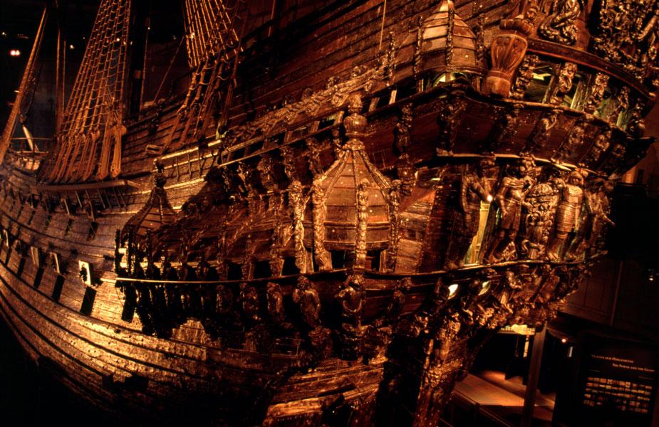 Popa del Vasa. Imagen de Wikimedia Commons.