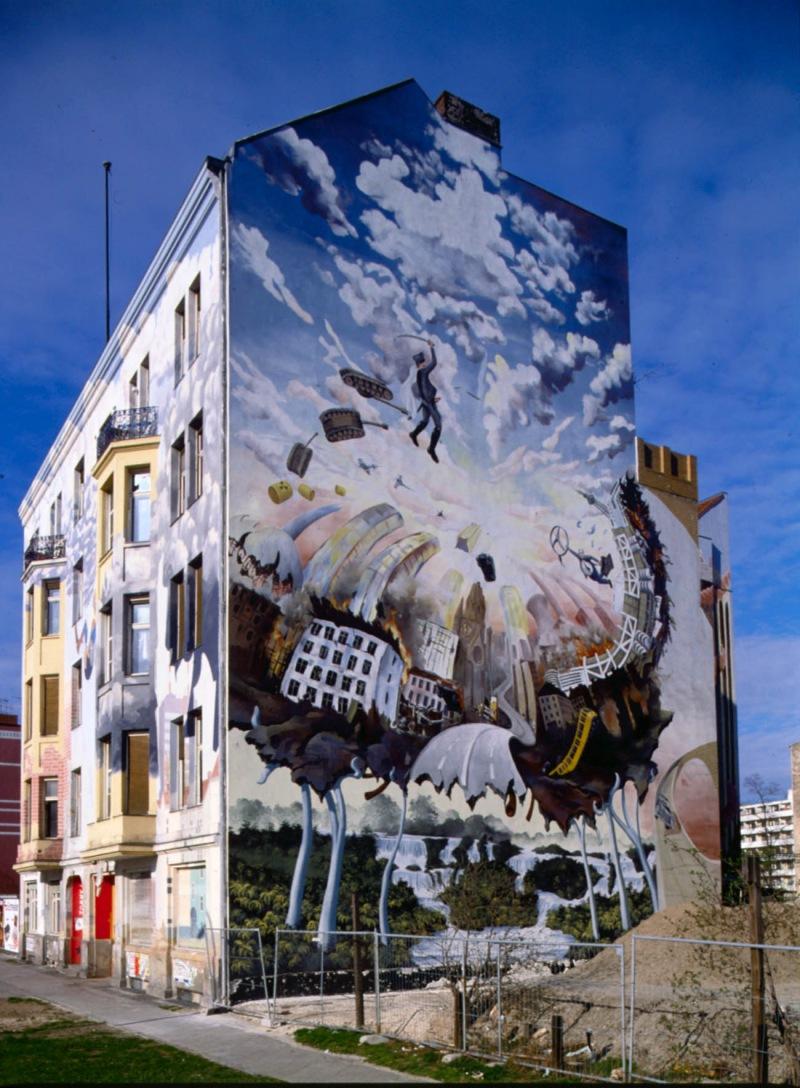 Tommy weisbecker haus wikipedia - Wandmalerei berlin ...