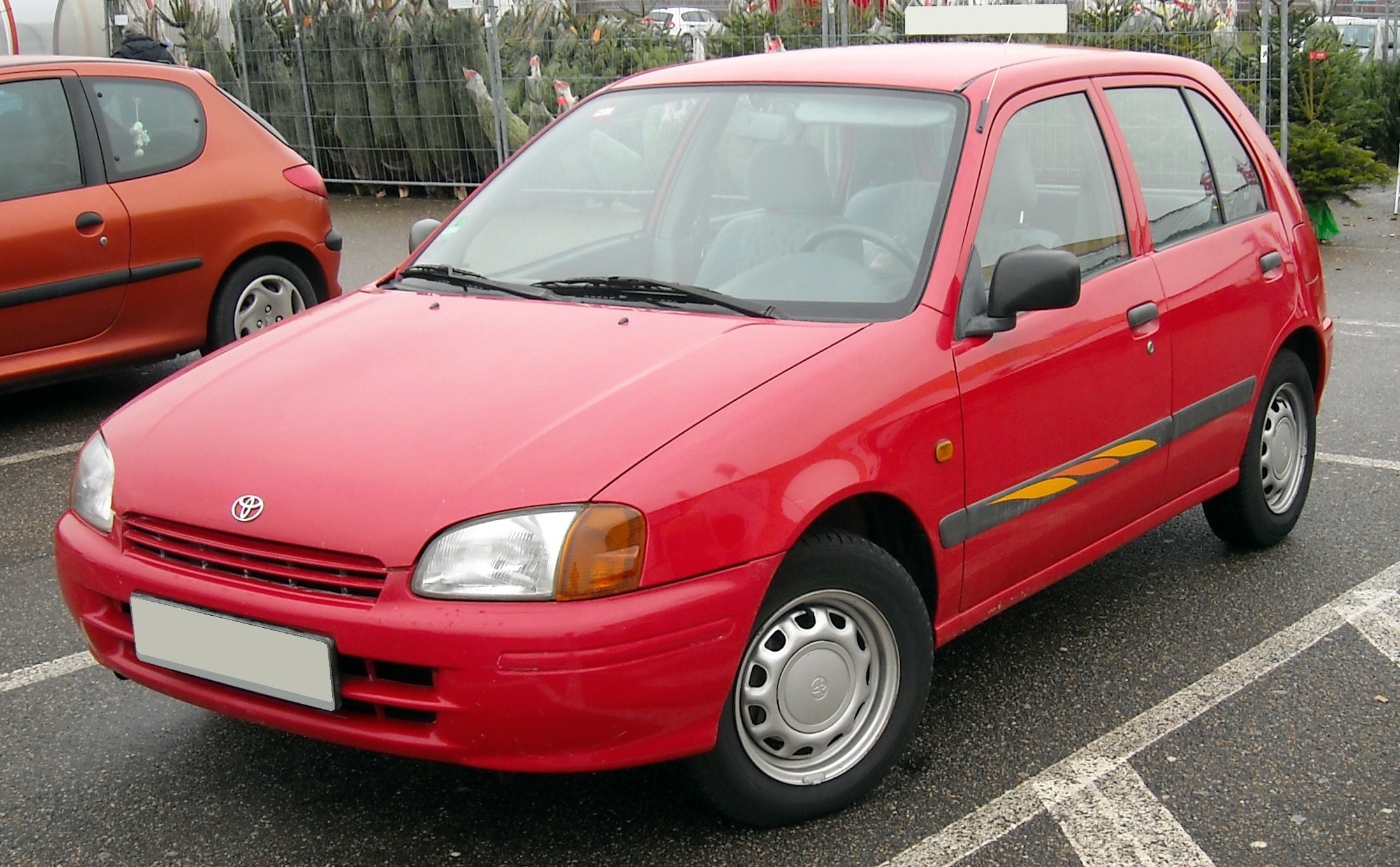 File Toyota Starlet Front 20081218 Jpg Wikipedia
