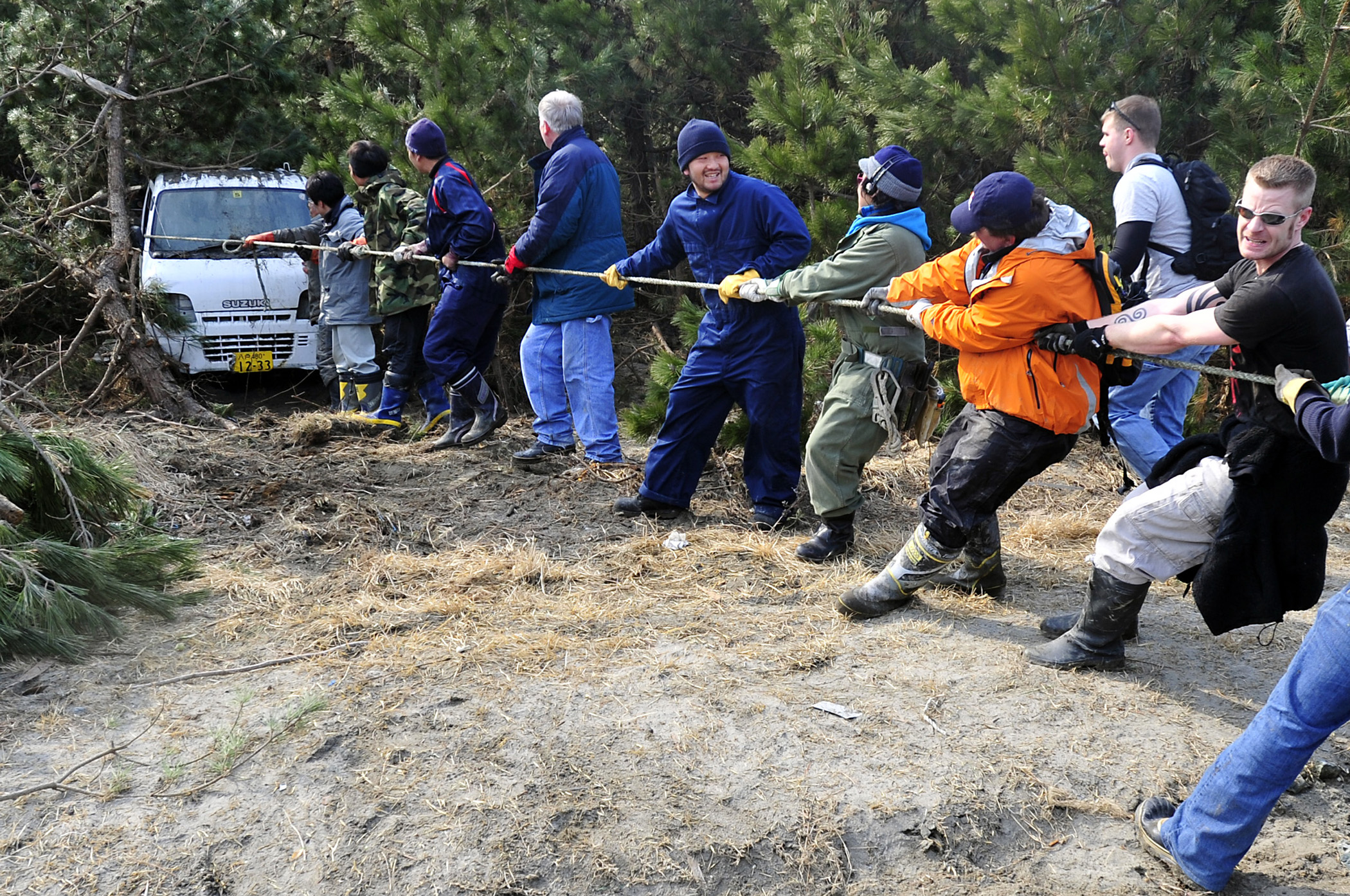 Humanitarian response to the 2011 Tōhoku earthquake and tsunami