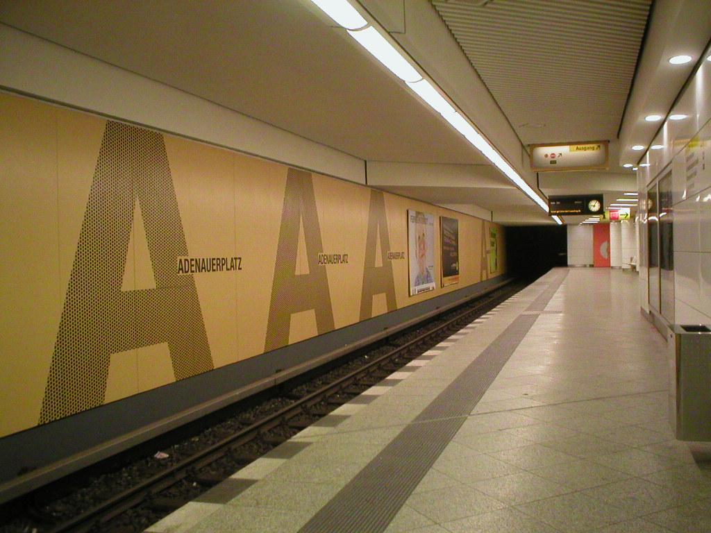 List of Berlin U Bahn stations