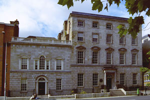 Newman house, St Stephen's Green, Dublin. The original location of UCD. UCDNewmanHouse.jpg