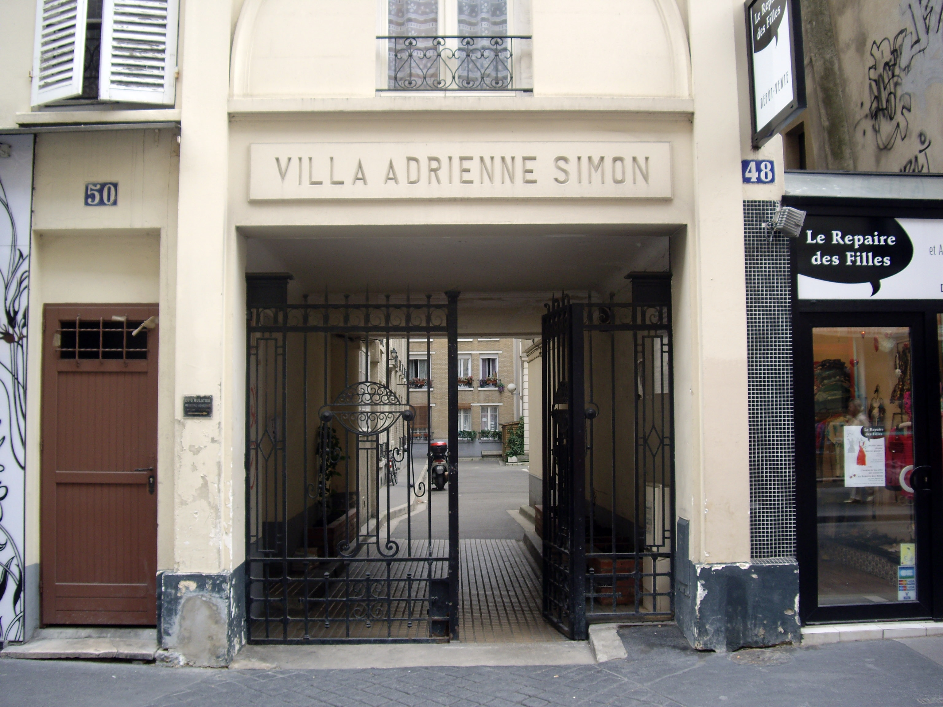Rue Daguerre Villa Adrienne Simon