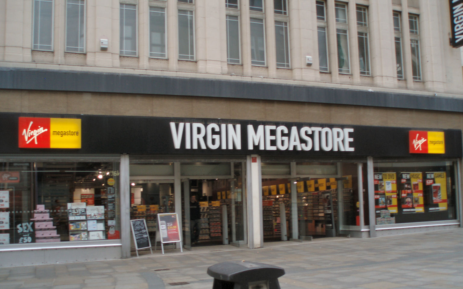 Virgin megastore discount code