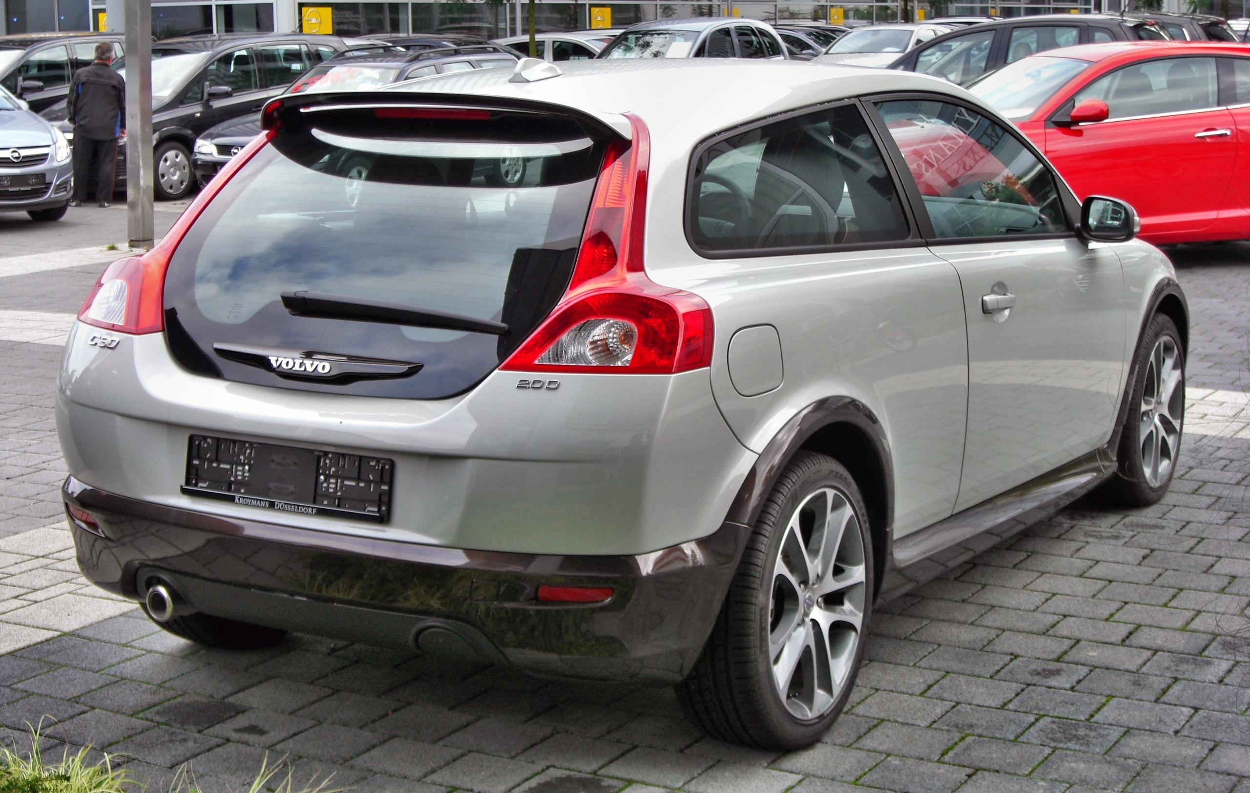 file volvo c30 2 0 d rear jpg wikimedia commons. Black Bedroom Furniture Sets. Home Design Ideas