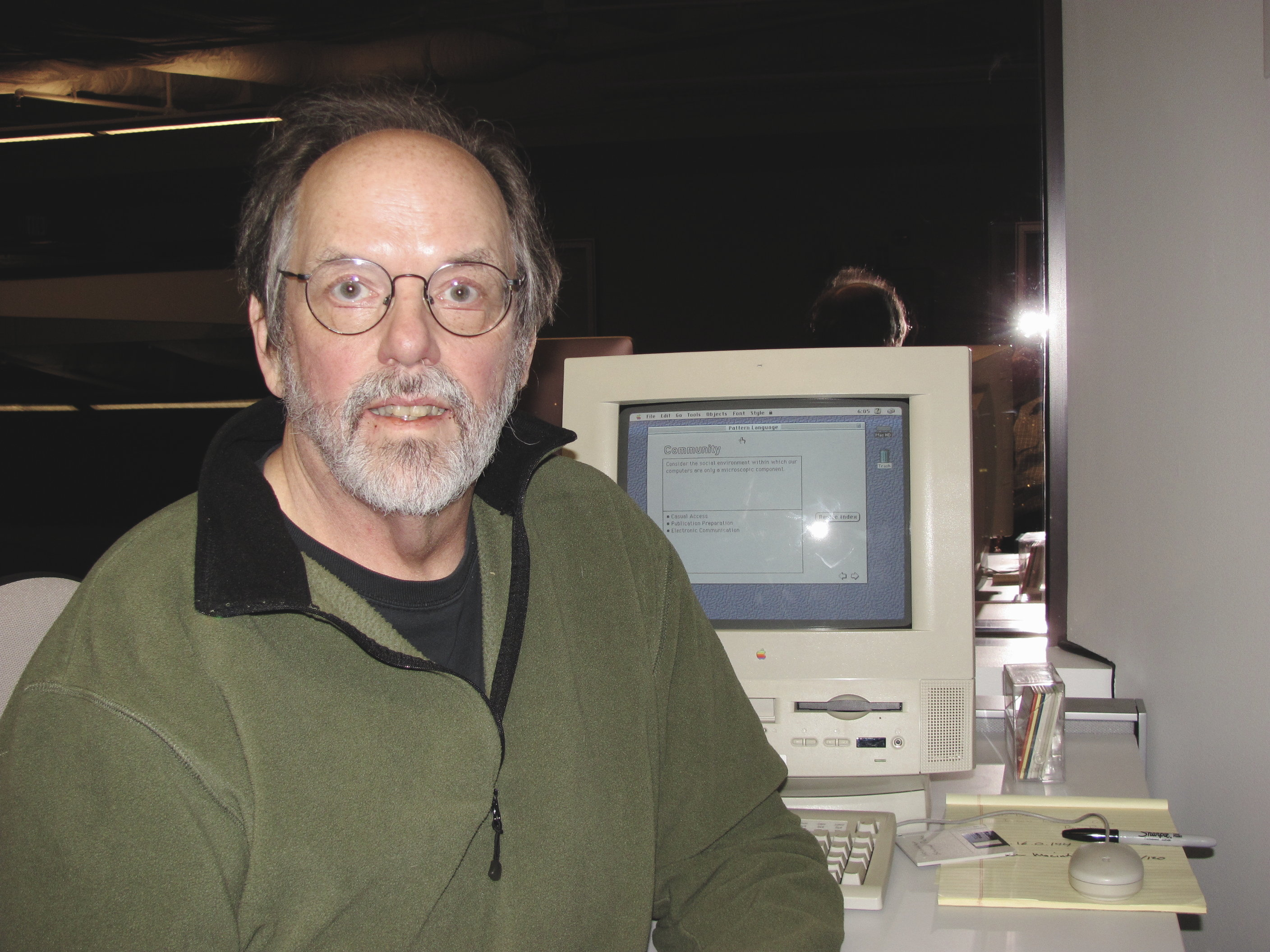 File:Ward Cunningham with Hypercard stack.jpg - Wikimedia Commons