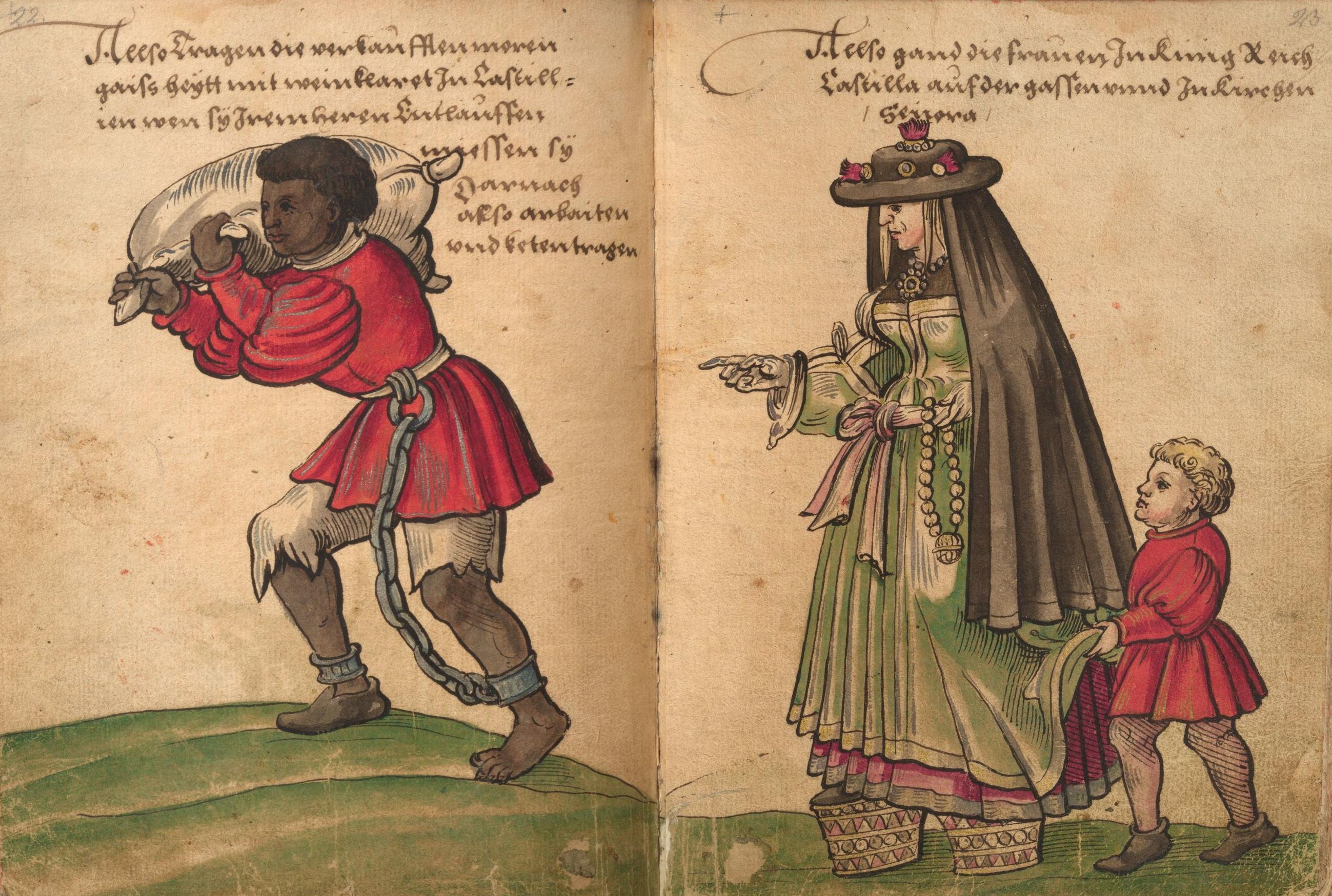 Image result for Chapines, Christoph Weiditz, Trachtenbuch von