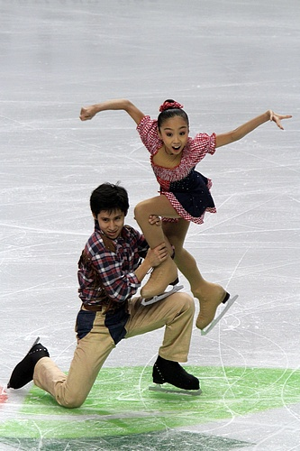 Sui Wenjing and Han Cong scored 118.54 points in free skating at the 2011 JGP Austria and they still hold the current World junior free skating record. They scored a total of ten World junior records during their junior career. They scored three times the combined total record, twice the short program record and five times the free skating record.