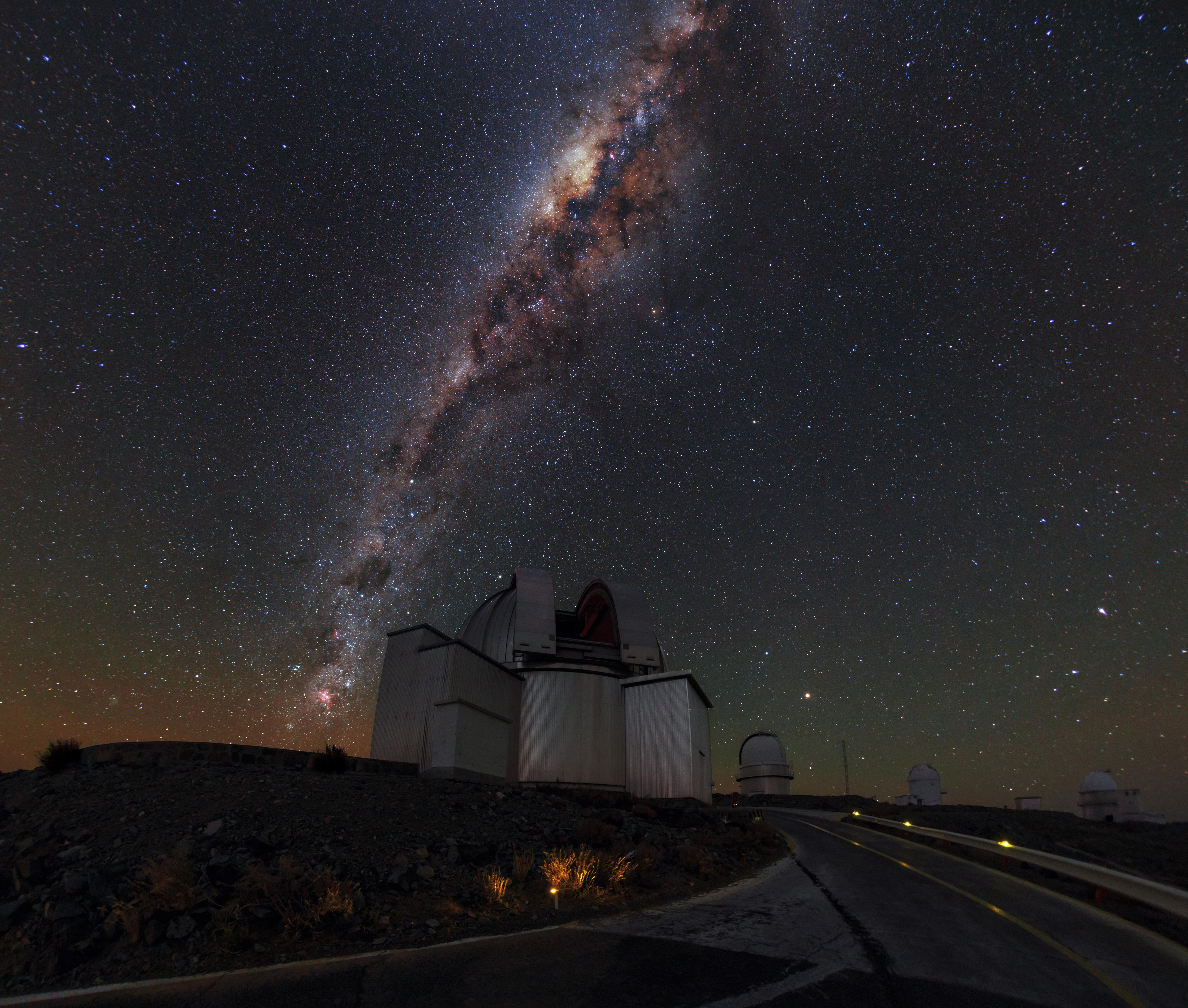 Ảnh chụp tại sa mạc Atacama, Chile.