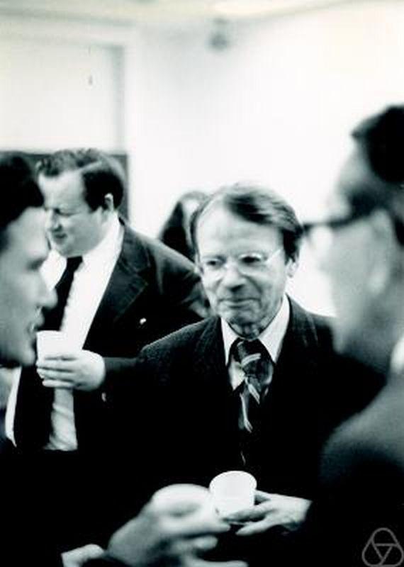 Wilhelm Klingenberg in Erlangen 1978