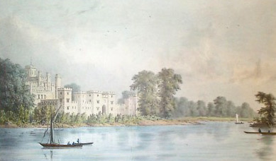 A drawing of New Kew Palace, by William Westall, 1823 William Westall. New Palace Kew 1823.jpg
