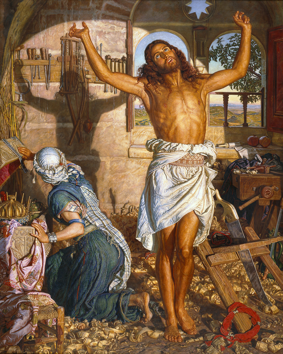 'The Shadow of Death' by William Holman Hunt [Public domain]