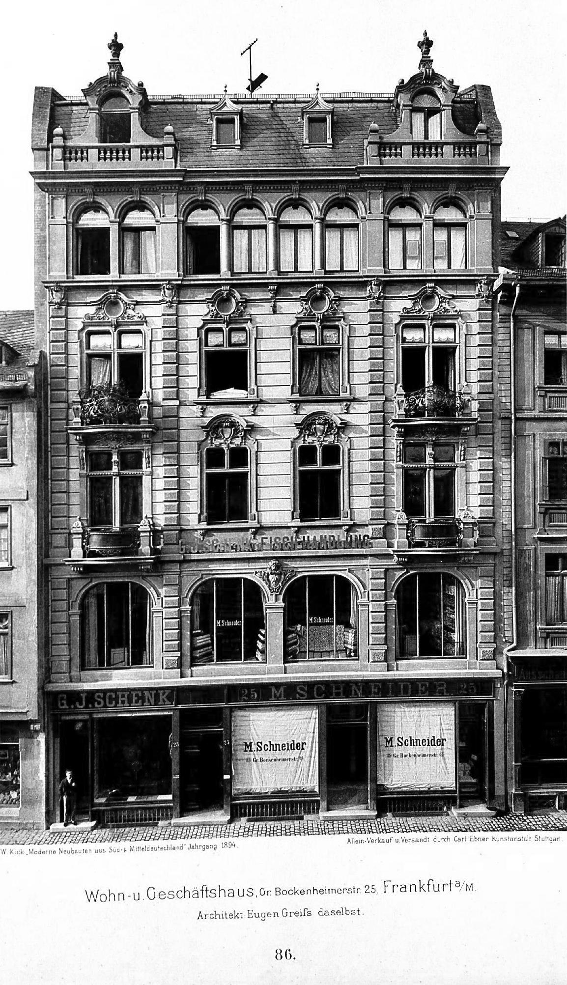 File Wohn Und Geschaftshaus Gr Bockenheimerstr 25 Frankfurt Am