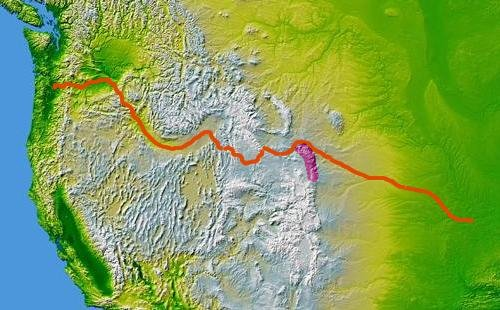Wpdms nasa topo oregon trail1