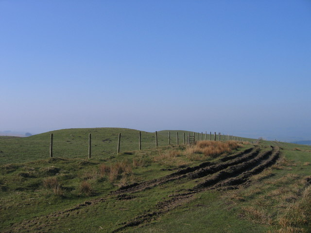 """Two Tumps"" - Cefnffordd Ceri - Kerry Ridgeway - geograph.org.uk - 393170"