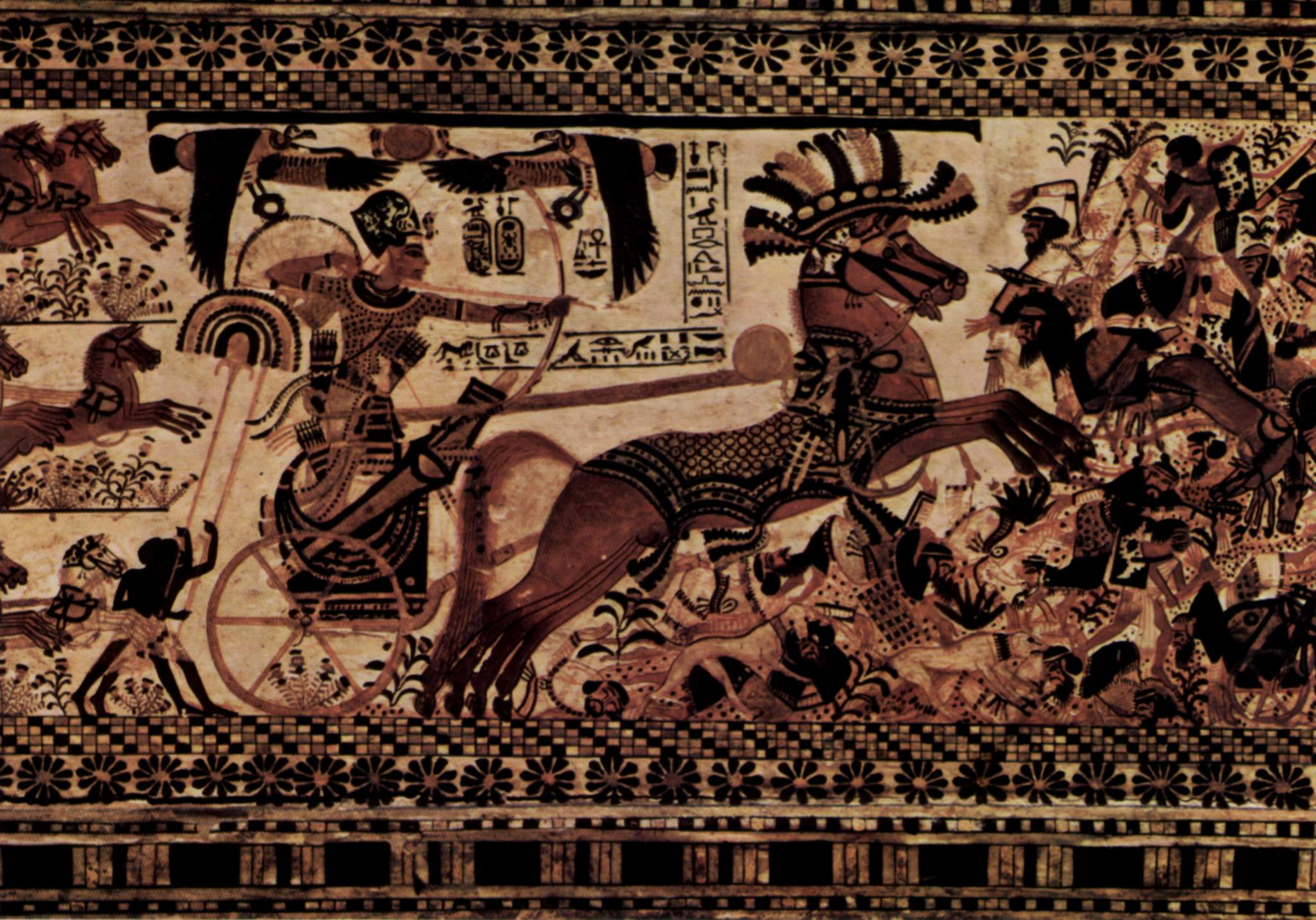 Horses in warfare wikipedia chariots and archers were weapons of war in ancient egypt fandeluxe Gallery