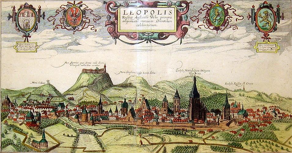 Файл:Львов 1618 АГогенберг.jpg