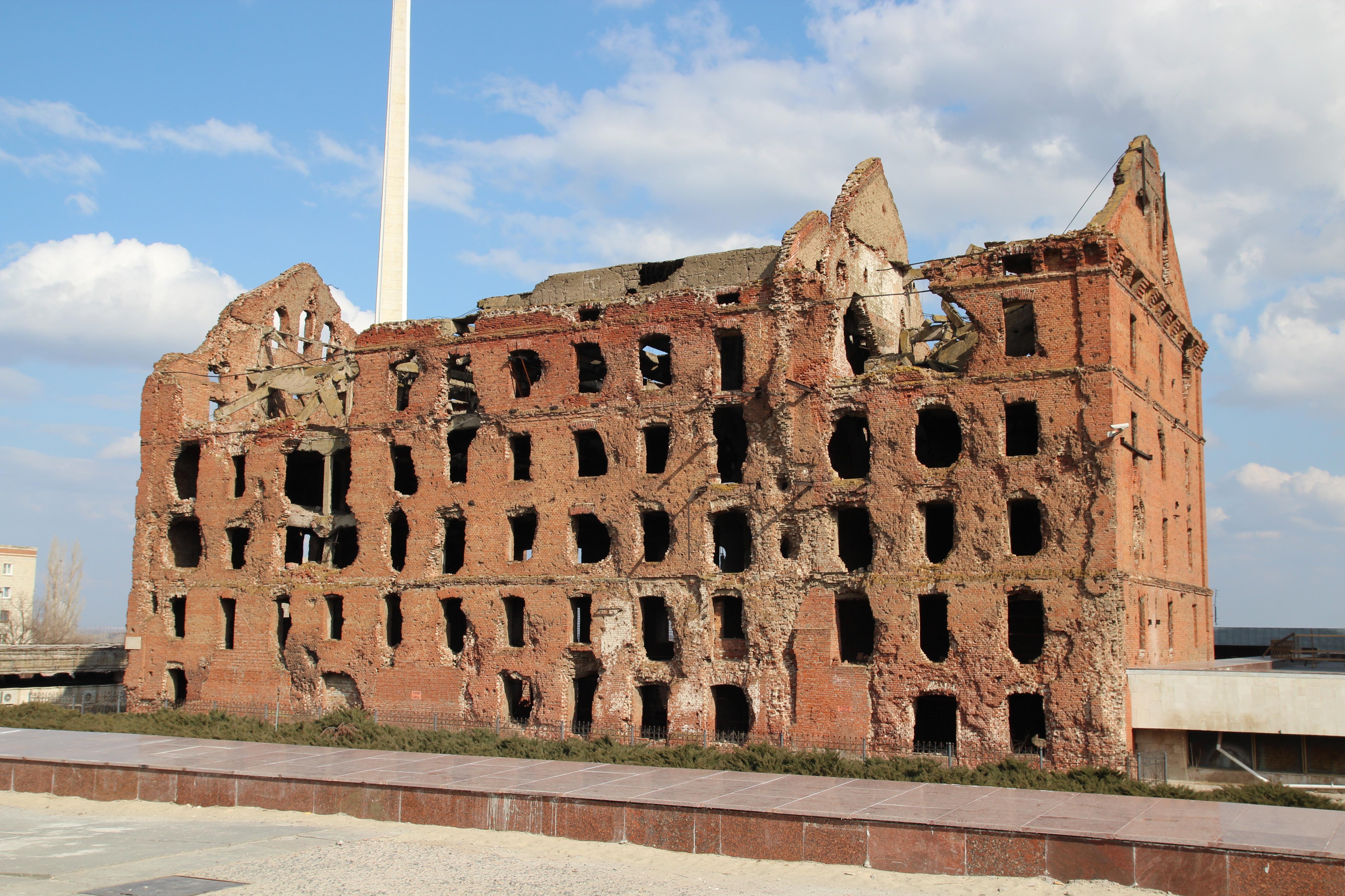 Здание мельницы Гергардта