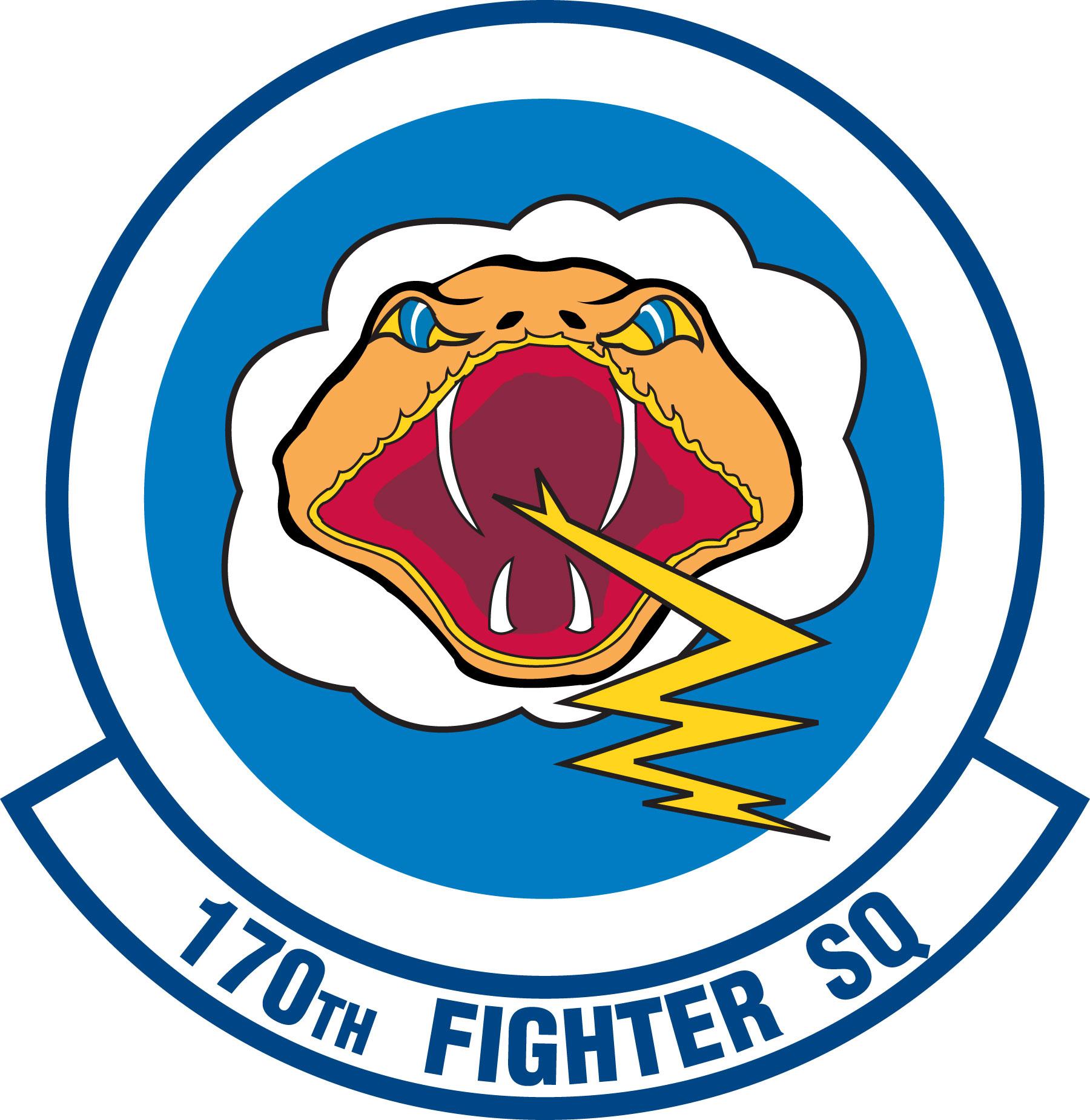 Fighter Squadron Logos File:170th Fighter Squadron