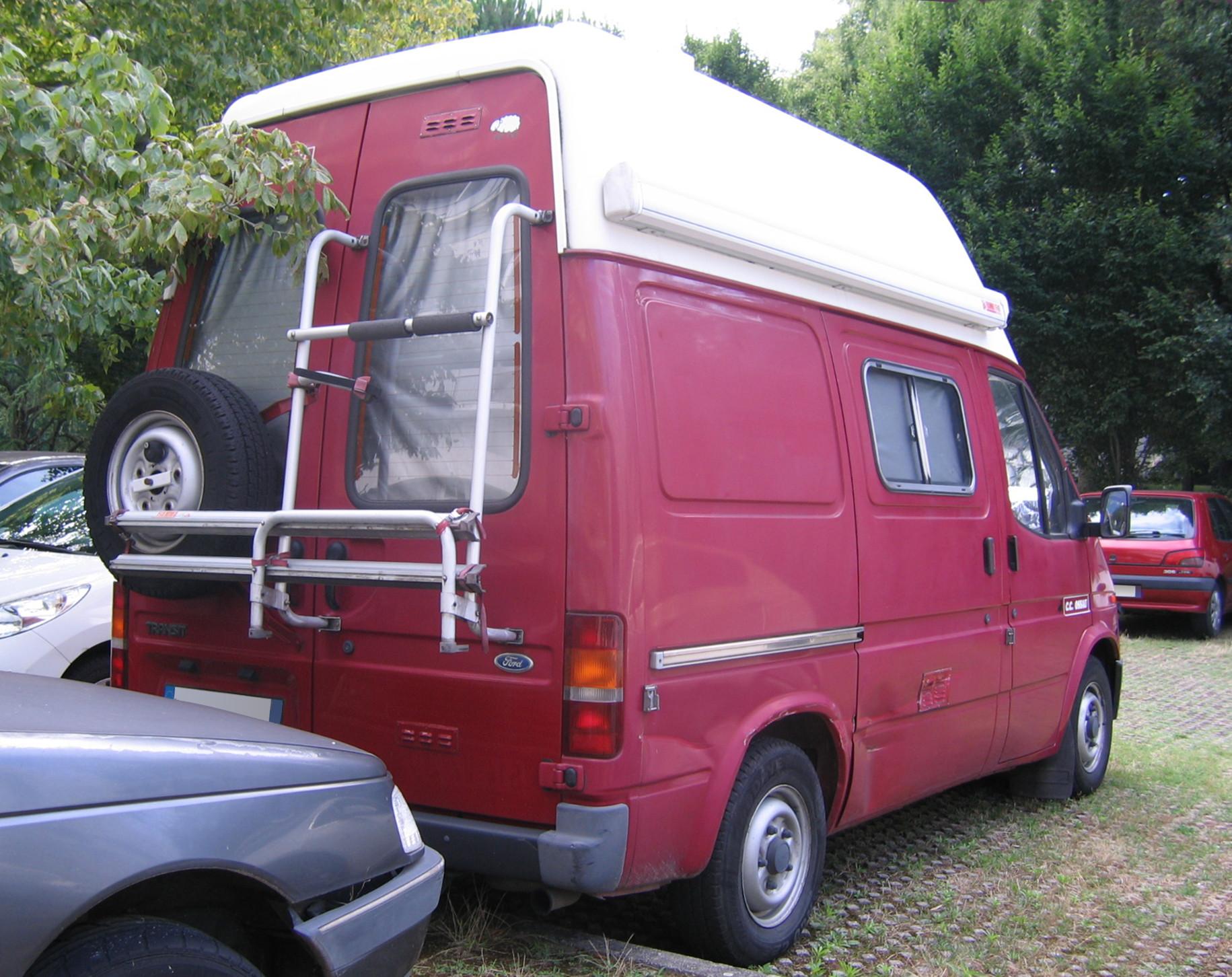 file 1991 1994 ossau ford transit campervan rr jpg wikimedia commons. Black Bedroom Furniture Sets. Home Design Ideas