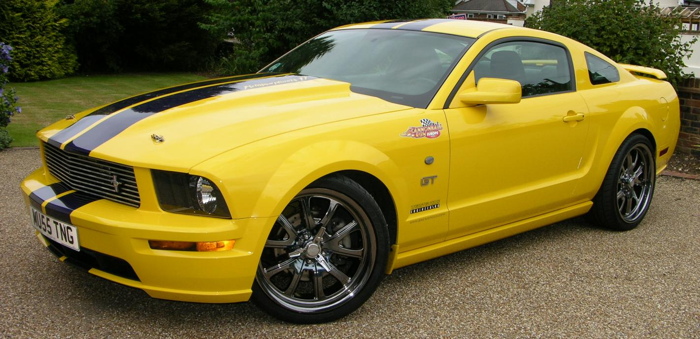 file 2005 ford mustang gt supercharged flickr the car spy 8 jpg wikimedia commons. Black Bedroom Furniture Sets. Home Design Ideas