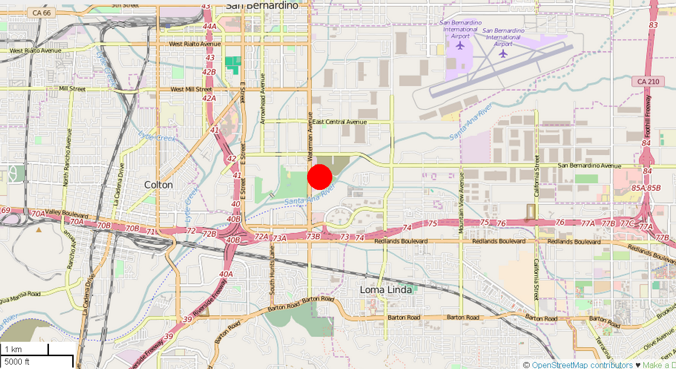 file san bernardino shooting location mappng  wikimedia commons - file san bernardino shooting location mappng