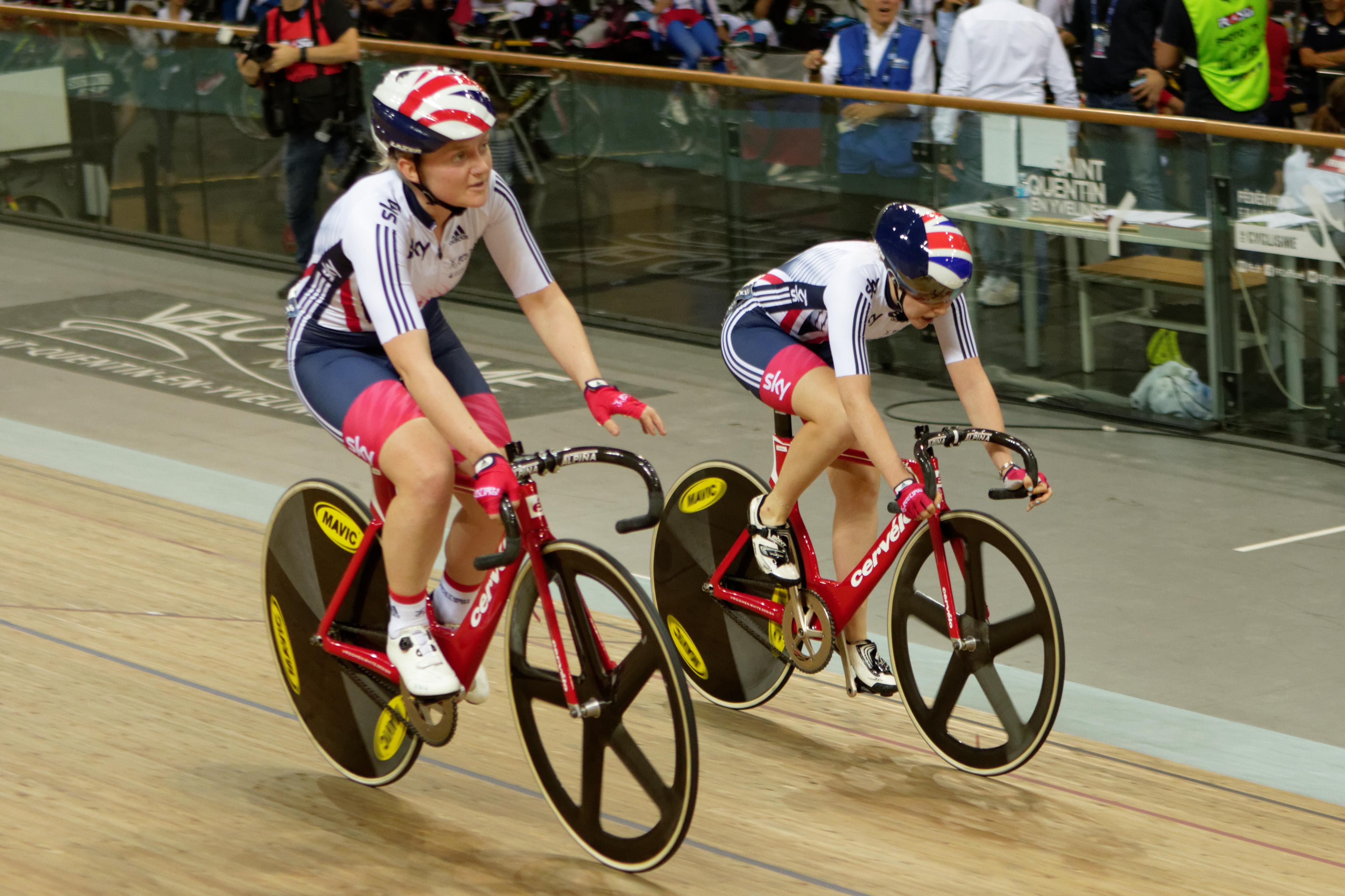 File 2016 UEC European Track Championships - Madison - Women 277.jpg ... 4eb1b94ef
