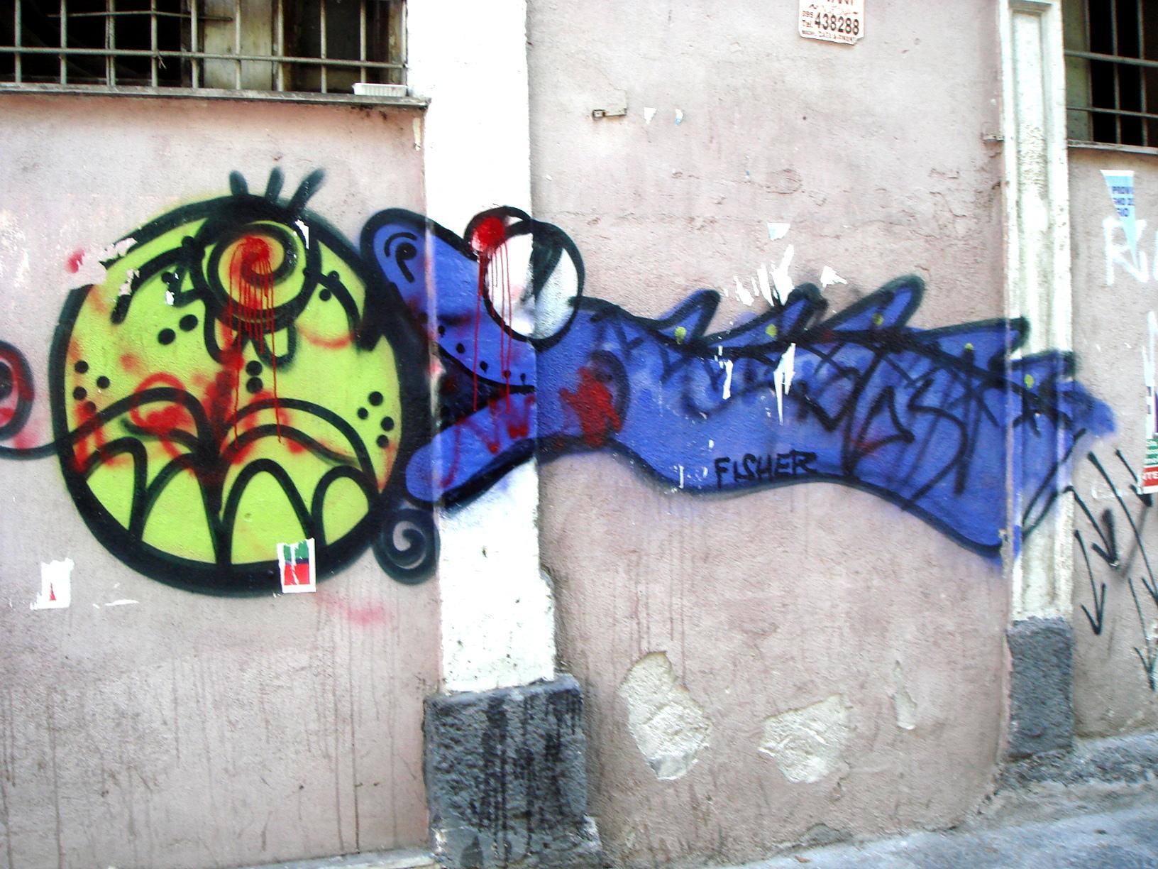 3001 catania graffiti foto giovanni dall orto 5 july 2008