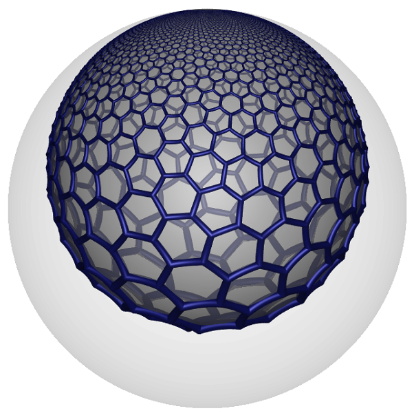 633 honeycomb one cell horosphere
